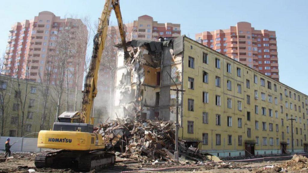 Реновация пятиэтажек в Москве сегодня. Последние новости