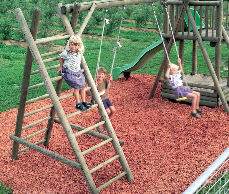 Услуги населению. Покрытие детских площадок
